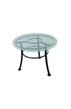 Stół metalowy Okrągły LOFT
