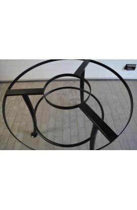 Stół metalowy Okrągły