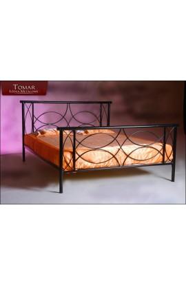 Sofia 120x200 łóżko Metalowe Kute Podwójne Do Sypialni