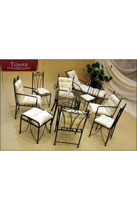 Stół Metalowy - Konstrukcja metalowa stołu (bez blatu)