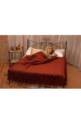 Łóżko Metalowe Eryka Niski Przód
