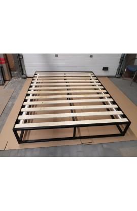 Olimp 120x200 łóżko metalowe LOFT