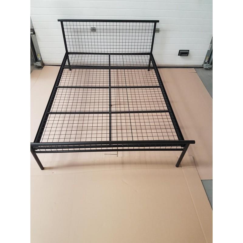 Fazi 140x200 Niski Przód Loft Industrial łóżko Metalowe