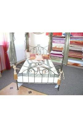 Łóżko Metalowe Eryka Baldachim