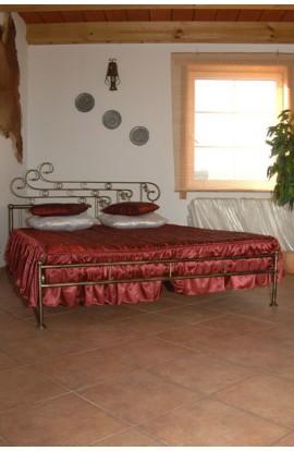 Łóżko Metalowe Roksana