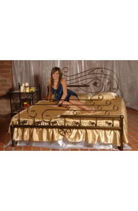 Łóżko Metalowe Oaza